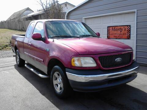 2001 Ford F-150 for sale at Marty's Auto Sales in Lenoir City TN
