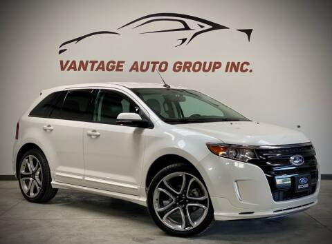 2014 Ford Edge for sale at Vantage Auto Group Inc in Fresno CA