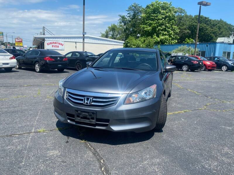 2011 Honda Accord for sale at M & J Auto Sales in Attleboro MA