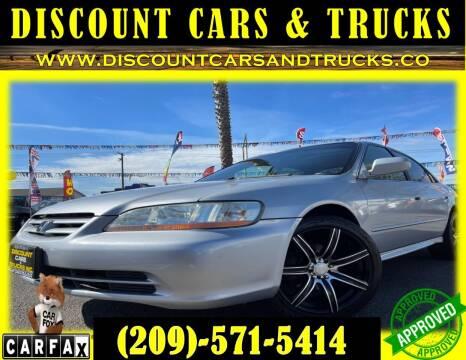 2002 Honda Accord for sale at Discount Cars & Trucks in Modesto CA