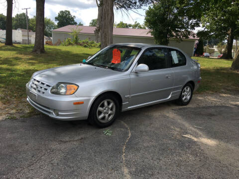 2003 Hyundai Accent for sale at Antique Motors in Plymouth IN