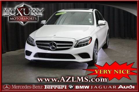 2019 Mercedes-Benz C-Class for sale at Luxury Motorsports in Phoenix AZ