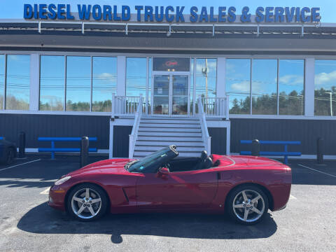 2008 Chevrolet Corvette for sale at Diesel World Truck Sales in Plaistow NH