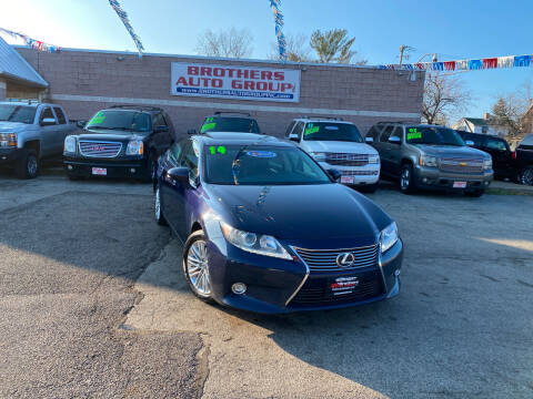 2014 Lexus ES 350 for sale at Brothers Auto Group in Youngstown OH