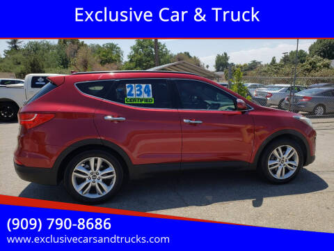 2013 Hyundai Santa Fe Sport for sale at Exclusive Car & Truck in Yucaipa CA