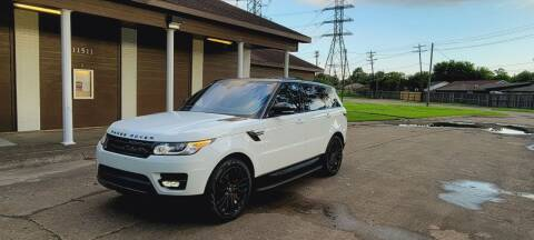 2017 Land Rover Range Rover Sport for sale at MOTORSPORTS IMPORTS in Houston TX