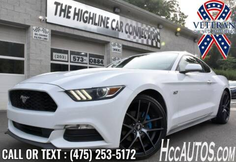 2017 Ford Mustang for sale at The Highline Car Connection in Waterbury CT