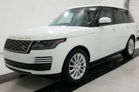 2018 Land Rover Range Rover for sale at Godspeed Motors in Charlotte NC