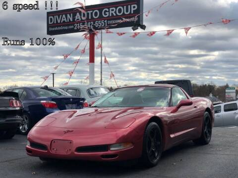 2001 Chevrolet Corvette for sale at Divan Auto Group in Feasterville PA