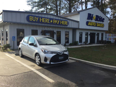 2015 Toyota Yaris for sale at Bi Rite Auto Sales in Seaford DE
