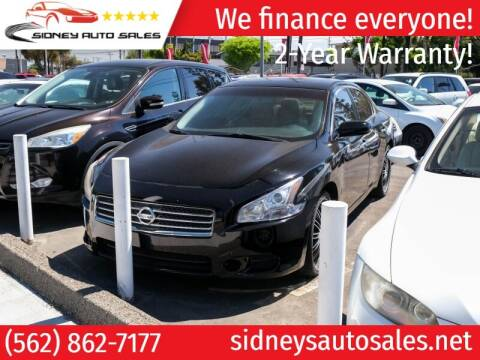 2010 Nissan Maxima for sale at Sidney Auto Sales in Downey CA