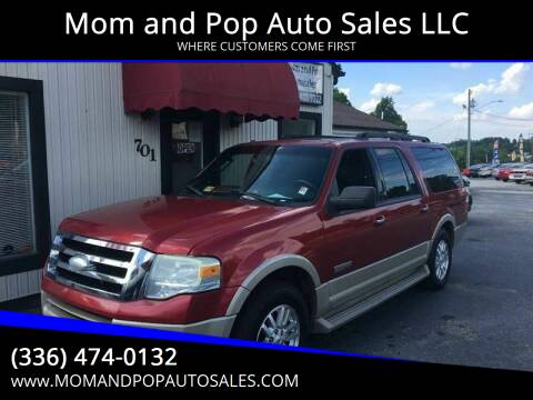 2007 Ford Expedition EL for sale at Mom and Pop Auto Sales LLC in Thomasville NC