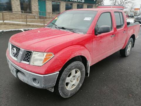 2005 Nissan Frontier for sale at KRIS RADIO QUALITY KARS INC in Mansfield OH