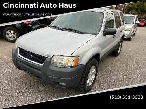 2003 Ford Escape for sale at Cincinnati Auto Haus in Cincinnati OH