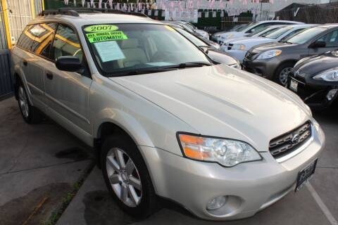 2007 Subaru Outback for sale at FJ Auto Sales in North Hollywood CA