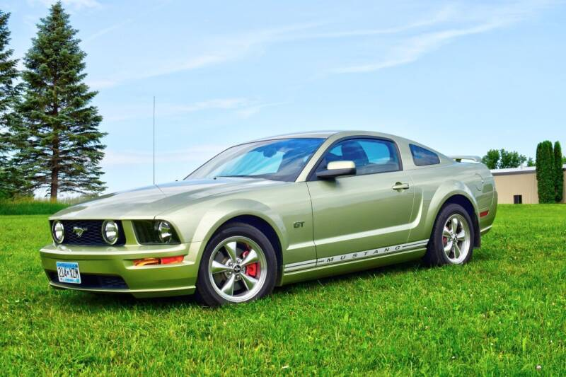 2005 Ford Mustang for sale at Hooked On Classics in Watertown MN
