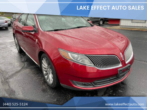 2013 Lincoln MKS for sale at Lake Effect Auto Sales in Chardon OH