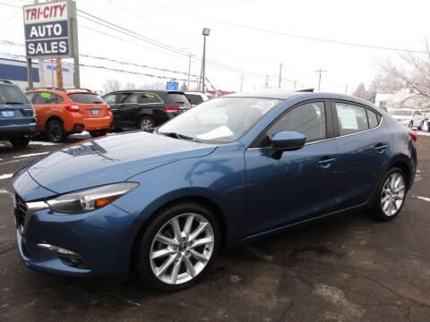 2017 Mazda MAZDA3 for sale at TRI CITY AUTO SALES LLC in Menasha WI