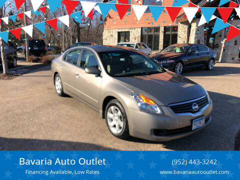 2008 Nissan Altima for sale at Bavaria Auto Outlet in Victoria MN