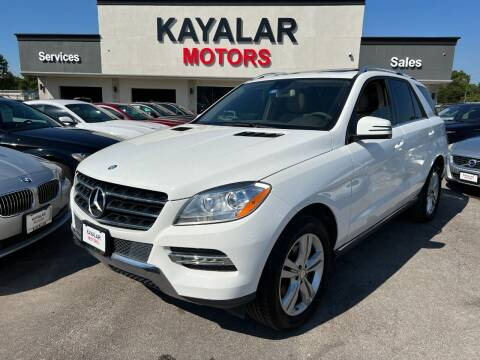 2015 Mercedes-Benz M-Class for sale at KAYALAR MOTORS in Houston TX
