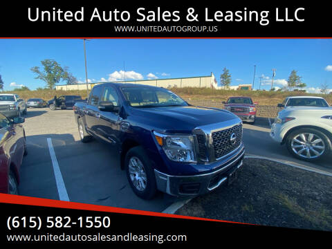 2017 Nissan Titan for sale at United Auto Sales & Leasing LLC in La Vergne TN