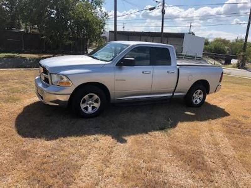 2010 Dodge Ram Pickup 1500 for sale at Carzready in San Antonio TX