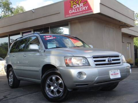 2004 Toyota Highlander for sale at KC Car Gallery in Kansas City KS