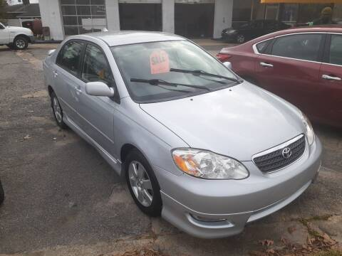 2006 Toyota Corolla for sale at PIRATE AUTO SALES in Greenville NC