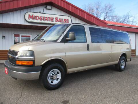2012 Chevrolet Express Passenger for sale at Midstate Sales in Foley MN