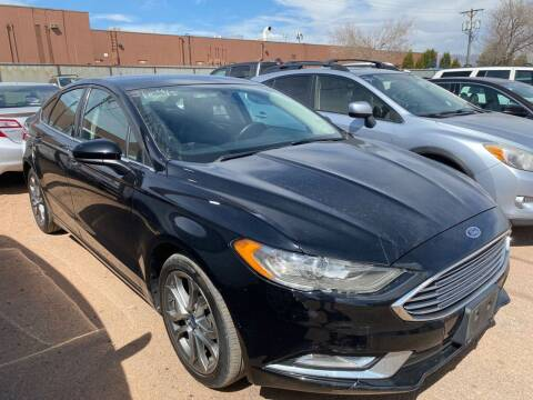 2017 Ford Fusion for sale at Street Smart Auto Brokers in Colorado Springs CO
