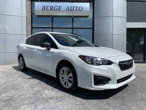 2017 Subaru Impreza for sale at Berge Auto in Orem UT