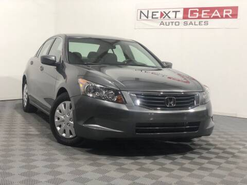 2008 Honda Accord for sale at Next Gear Auto Sales in Westfield IN