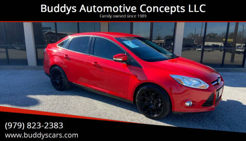2014 Ford Focus for sale at Buddys Automotive Concepts LLC in Bryan TX