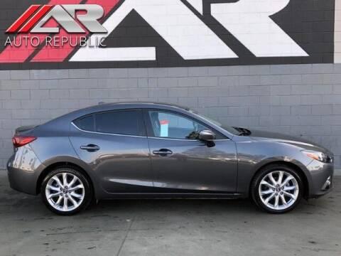 2014 Mazda MAZDA3 for sale at Auto Republic Fullerton in Fullerton CA