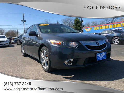 2012 Acura TSX for sale at Eagle Motors in Hamilton OH
