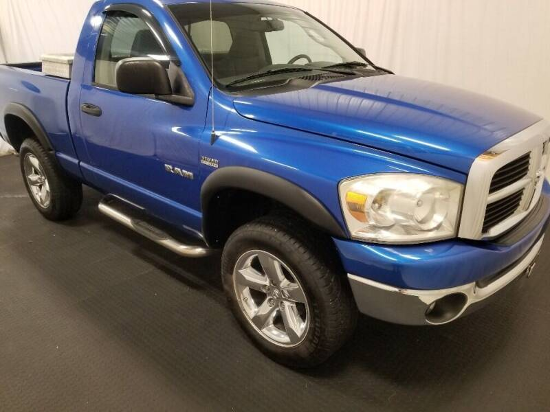2008 Dodge Ram Pickup 1500 for sale at Rick's R & R Wholesale, LLC in Lancaster OH