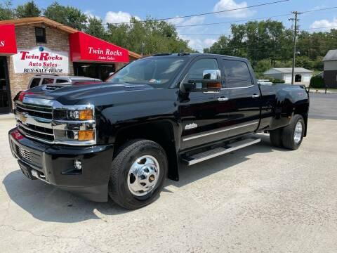 2019 Chevrolet Silverado 3500HD for sale at Twin Rocks Auto Sales LLC in Uniontown PA