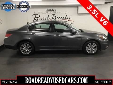 2012 Honda Accord for sale at Road Ready Used Cars in Ansonia CT