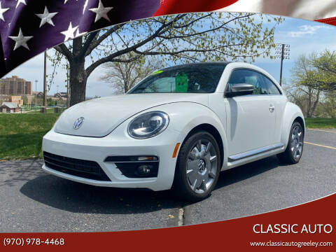2014 Volkswagen Beetle for sale at Classic Auto in Greeley CO