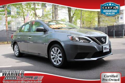 2017 Nissan Sentra for sale at Warner Motors in East Orange NJ