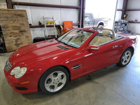 2005 Mercedes-Benz SL-Class for sale at Hometown Automotive Service & Sales in Holliston MA