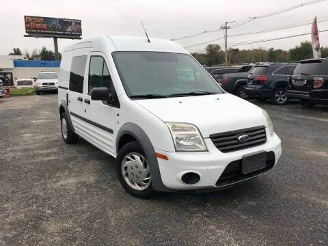 2012 Ford Transit Connect for sale at Mass Motors LLC in Worcester MA