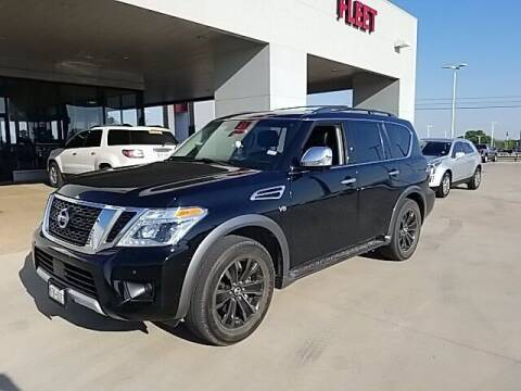 2017 Nissan Armada for sale at Jerry's Buick GMC in Weatherford TX