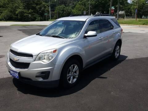 2012 Chevrolet Equinox for sale at Premier Auto Sales Inc. in Newport News VA