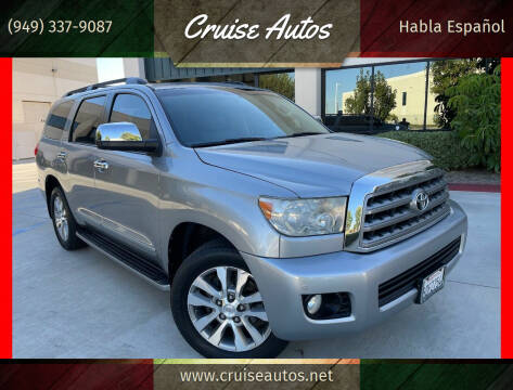 2008 Toyota Sequoia for sale at Cruise Autos in Corona CA