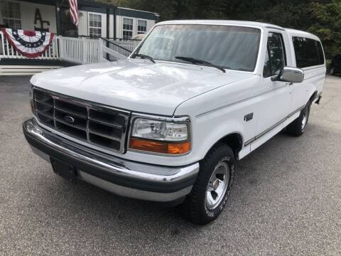 1992 Ford F-150 for sale at Auto Cars in Murrells Inlet SC