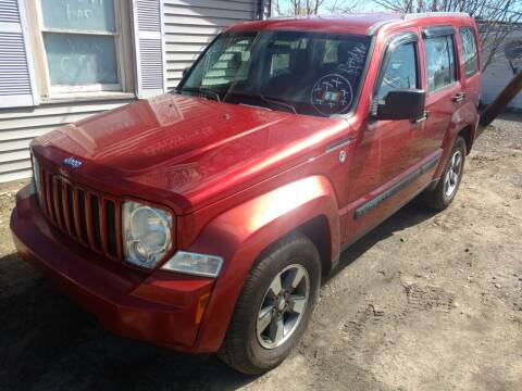 2008 Jeep Liberty for sale at Auto Brokers of Milford in Milford NH