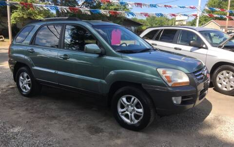 2006 Kia Sportage for sale at Antique Motors in Plymouth IN