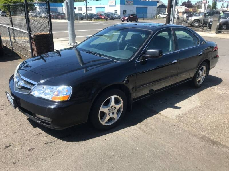 2002 Acura TL for sale at Chuck Wise Motors in Portland OR