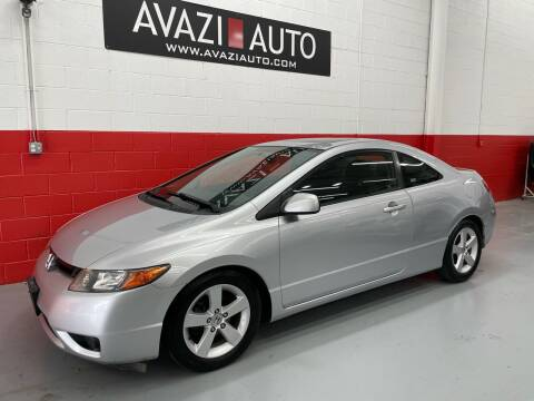 2006 Honda Civic for sale at AVAZI AUTO GROUP LLC in Gaithersburg MD